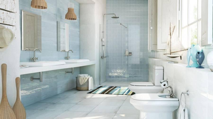 Propuestas de azulejos para cocinas y ba os r sticos - Azulejos rusticos para bano ...