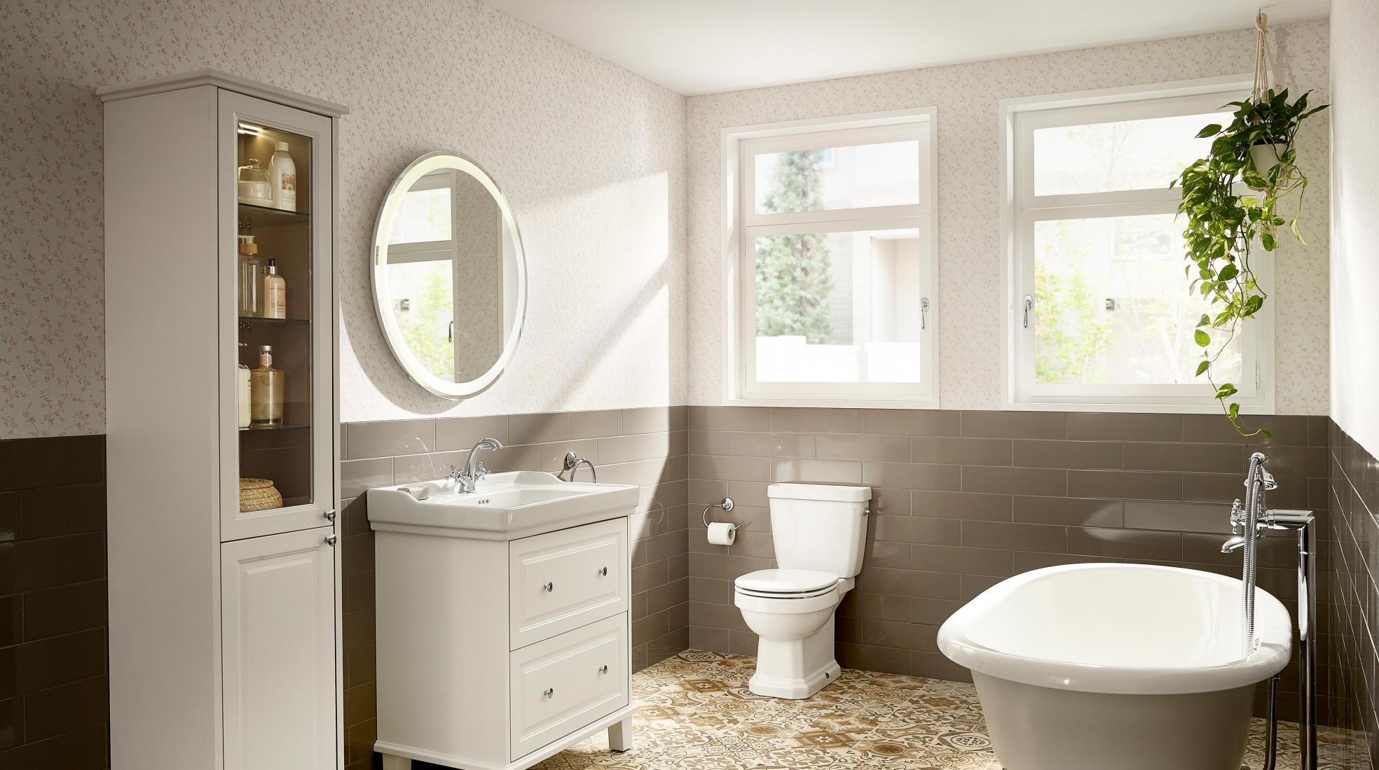 Multiplica el almacenaje instalando muebles de baño ...