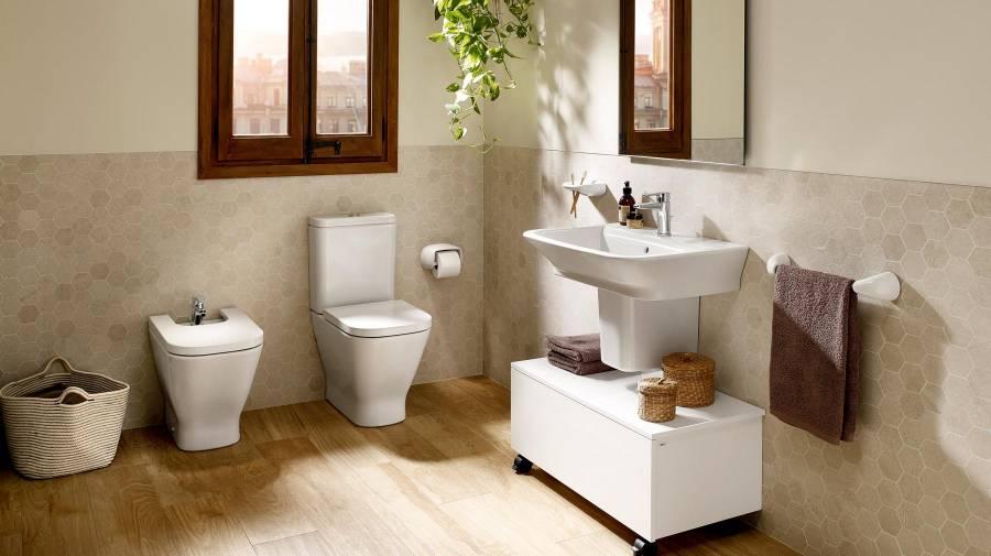Multiplica el almacenaje instalando muebles de ba o auxiliares - Modulos de bano ...