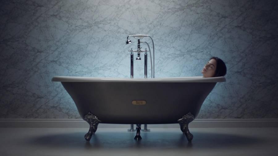 Decoración de estilo industrial: propuestas para un baño gris