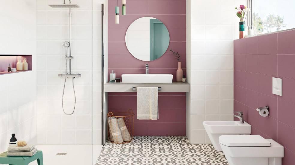 Juega con las formas. Elige un espejo de baño redondo │Roca ...