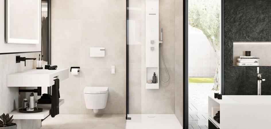 Cuartos de baño modernos, lo último en tecnología y diseño de Roca