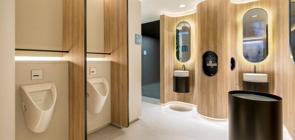 ONE HUNDRED Restrooms Roca: innovación, seguridad e higiene en baños públicos