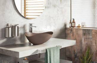 Ohtake: lavabos sobre encimera que retan a la imaginación