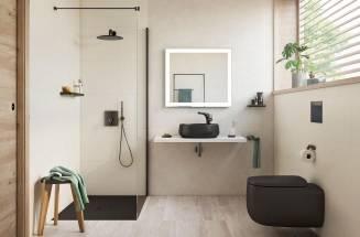 Accesorios de baño en negro de Roca