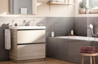 Muebles de  baño de madera Roca