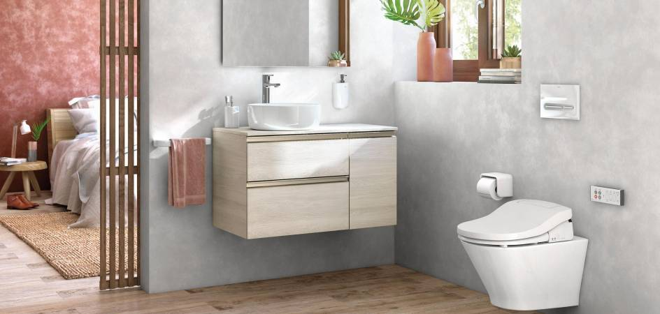 Reformar el baño sin quitar los azulejos es muy fácil con Roca