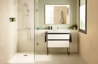 Domi, un mueble de baño estilo industrial de Roca para todo tipo de espacios