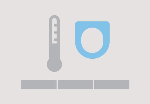 Temperatura del asiento regulable